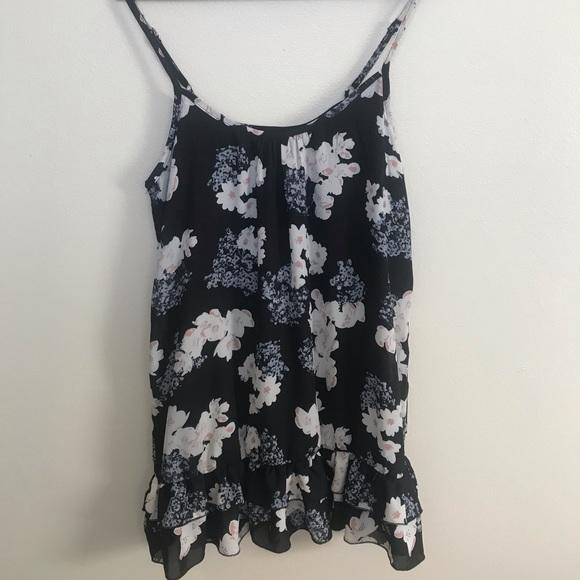 Wet Seal Dresses & Skirts - Black Floral Dress